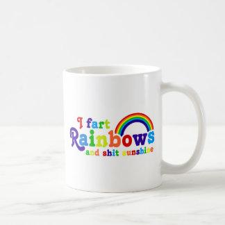 I Fart Rainbows and Shit Sunshine Grobe Coffee Mug