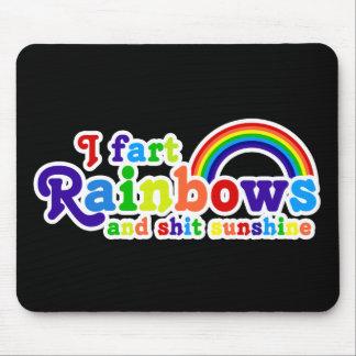 I Fart Rainbows and Shit Sunshine Grobe Mouse Pad