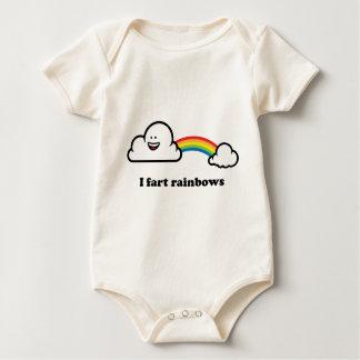 I fart rainbows baby bodysuit