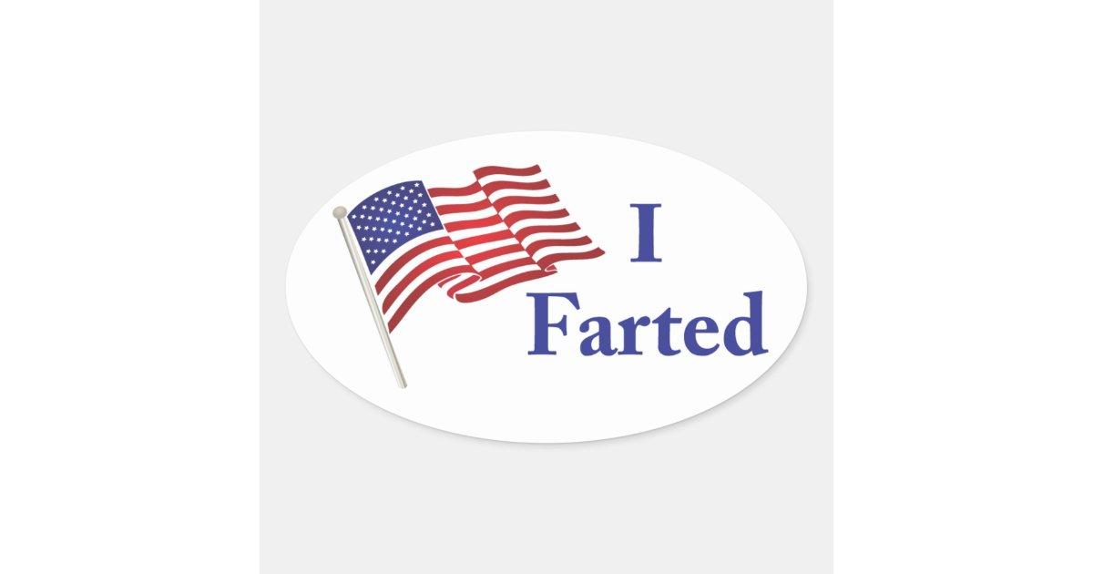 I Farted Sticker | Zazzle