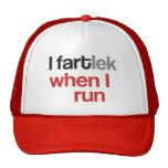 I FARTlek cuando corro el © - FARTlek divertido Gorro De Camionero