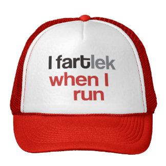 I FARTlek cuando corro el © - FARTlek divertido Gorras