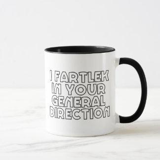 I Fartlek In Your General Direction Mug