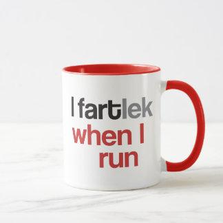 I FARTlek when I Run © - Funny FARTlek Mug