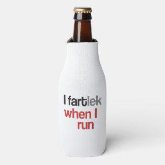 I FARTlek when I Run © - Funny FARTlek Runner Gift Bottle Cooler