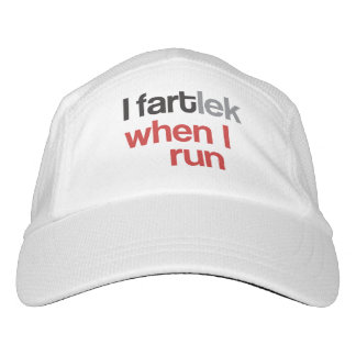 I FARTlek when I Run © - Funny FARTlek Runner Gift Headsweats Hat