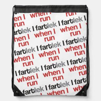 I FARTlek when I Run © - Funny FARTlek Runner Backpack