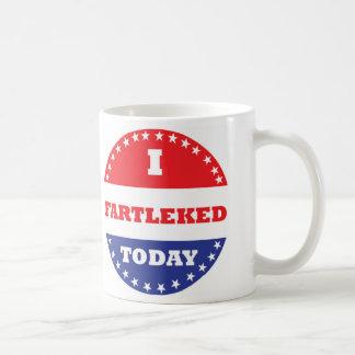 I Fartleked Today Coffee Mug