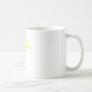 I Fear No Beard Classic White Coffee Mug