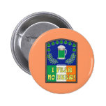 I Fear No Beer 2 Inch Round Button