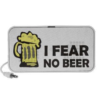 I fear no beer funny foaming mug for party animal mini speaker