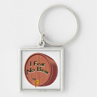 I Fear No Beer Keychain