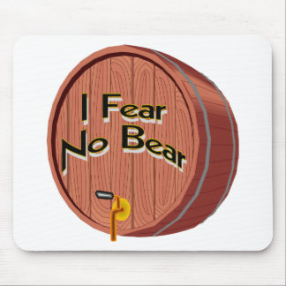 I Fear No Beer Mousepads