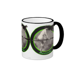 I fear no man, and only one woman ... ringer coffee mug