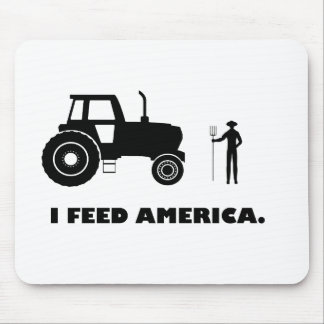 I feed America Mouse Pad. Mouse Pad