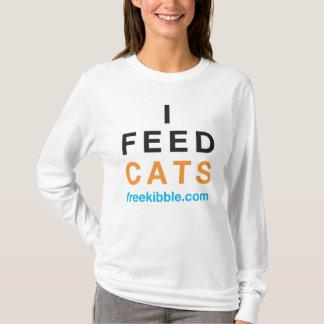"""""""I Feed Cats"""" Tee"""