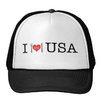 I feed USA Logo.png Mesh Hats