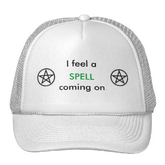 I feel a SPELL coming on Mesh Hat