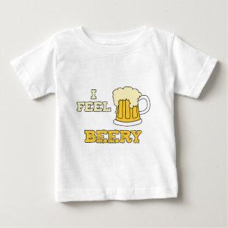 I feel beery - offset tee shirt