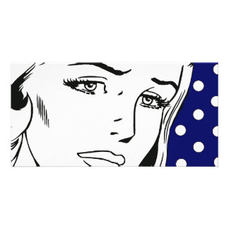 I Feel Dirty Cartoon Girl Card