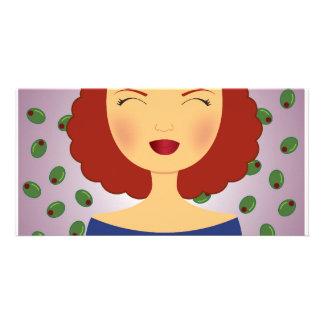 I Feel Fine (Red Head) Card