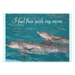 I feel free with my mom Mothers Day Custom Invitation