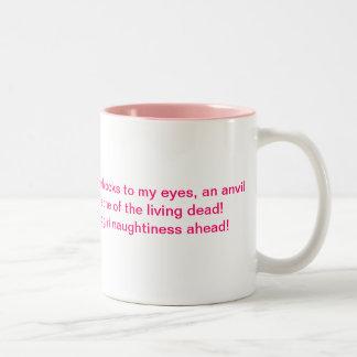 I feel like... Two-Tone coffee mug