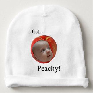 """I Feel... Peachy!"" Baby Hat"