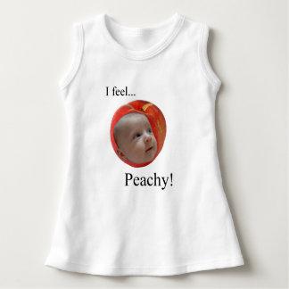 """""""I Feel... Peachy!"""" Sleeveless Dress"""
