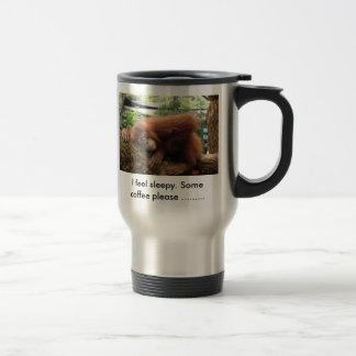 I feel sleepy. Some coffee please ...... 15 Oz Stainless Steel Travel Mug