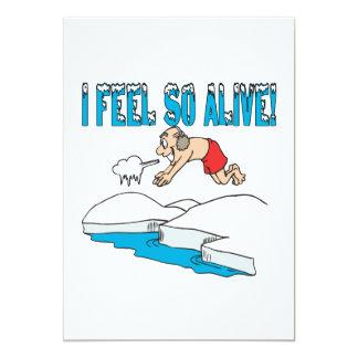 I Feel So Alive Card