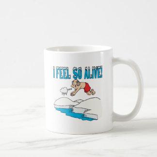 I Feel So Alive Coffee Mug