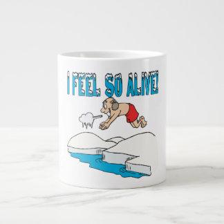I Feel So Alive Jumbo Mugs