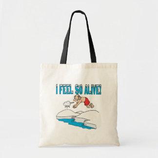 I Feel So Alive Tote Bag