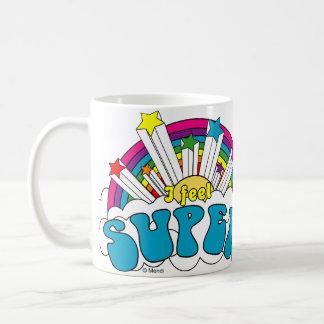 I Feel Super Coffee Mugs