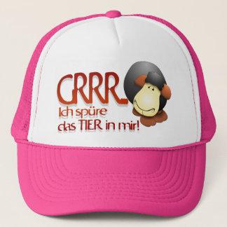 I feel the animal in me! trucker hat