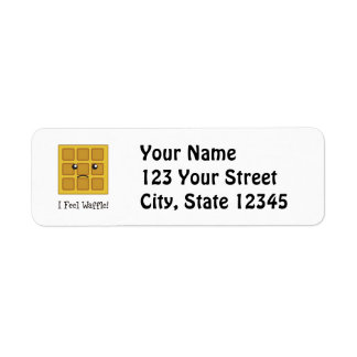 I feel Waffle! Return Address Label