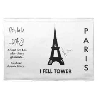I fell Tower- Placemats