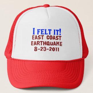I Felt It! East Coast Earthquake, 2011 Trucker Hat