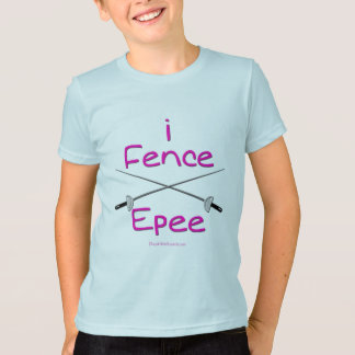 i Fence Epee (french grip) PINK T-Shirt