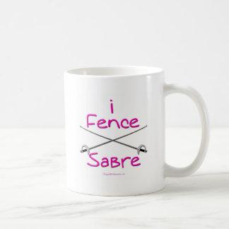 i Fence Sabre (PINK) Coffee Mug