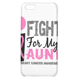 I Fight For My Aunt Breast Cancer iPhone 5C Cover