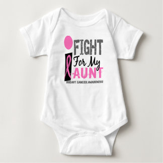 I Fight For My Aunt Breast Cancer T-shirts