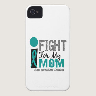 I Fight For My Mom Ovarian Cancer iPhone 4 Cover