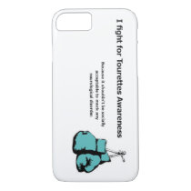 I fight for Tourettes awareness iPhone 8/7 Case