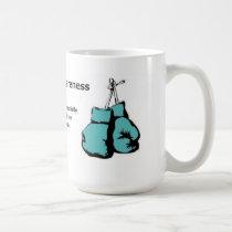 I fight for Tourettes awareness Coffee Mug