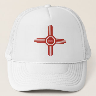 i fight-red trucker hat