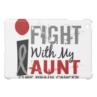 I Fight With My Aunt Brain Cancer iPad Mini Case