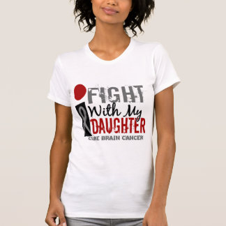 I Fight With My Daughter Brain Cancer T-Shirt