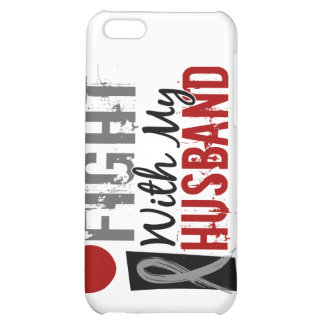 I Fight With My Husband Brain Cancer iPhone 5C Cover